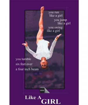 Gymnastics Quotes Like a Girl