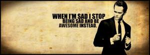 When I'm sad i stop being sad