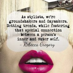 Awesome quote from Organic Salon Systems' Technical Director, Rebecca ...