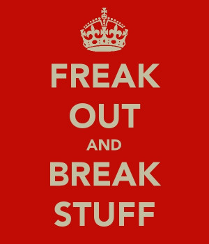 ... love this simply because I hate the Keep Calm sayings so much. Funny