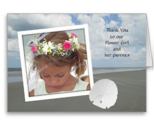 Cute Sayings to Thank The Flower Girl and Her Parents