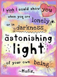 own being hafiz inspiration words hafiz quotes astonishing lights trav ...