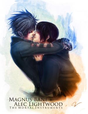 Alec & Magnus Alec and Magnus