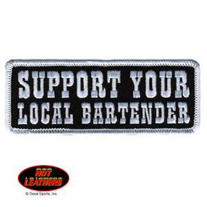 Hot Leathers Local Bartender Patch