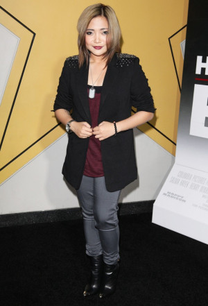 Here Comes The Boom New York Premiere Charice Pempengco