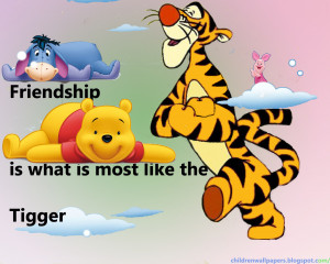 To download click on Winnie the Pooh Friendship Quotes Wallpaper then ...