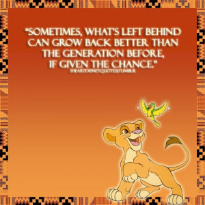 Lion King Quotes Simba quote from the lion king