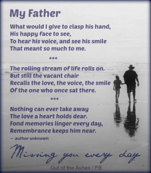 with love to my precious father who is now in heaven