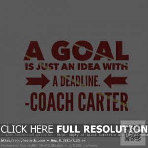 Coach Carter Motivational Quotes Images