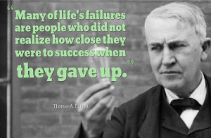 Thomas Edison Quotes On Success Thomas edison thomas edison