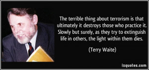 More Terry Waite Quotes
