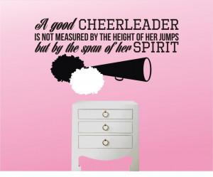 Cheer Quotes Cheerleading quote pom
