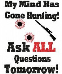 funny deer hunting quotes | shirt Sayings 5 Hunting 5x7 :: Signs ...