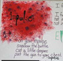 Ellen Hopkins Poster-Impulse by StrawberryDacri