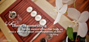 Tea Quotes by Daoli