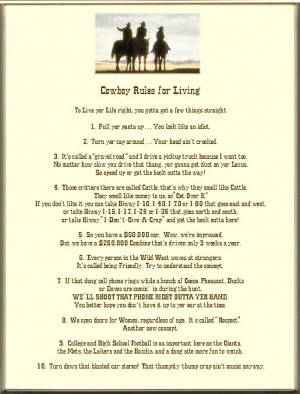 Cowboy Poems And Quotes