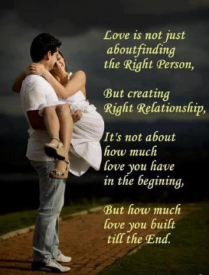 love is not just
