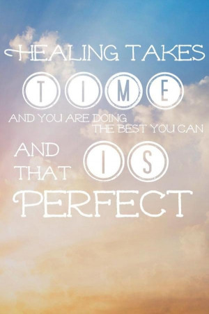 Healing quotes, best, deep, sayings, time