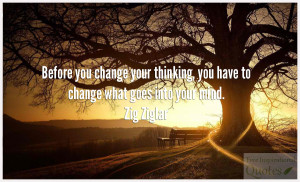 You Change Your Thinking
