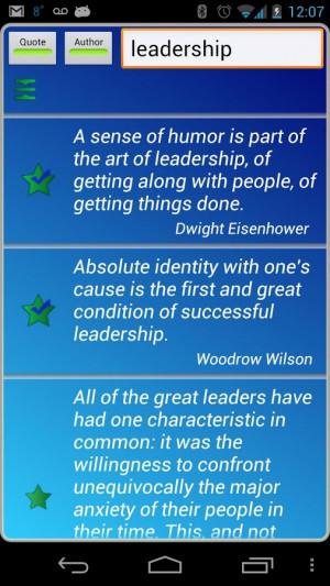 Leadership Quotes - screenshot