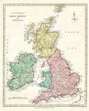 great britain map