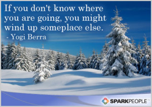 Motivational Quote - If you don't know where you are going, you will ...