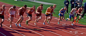 Track and field teams host, succeed in mini-invite