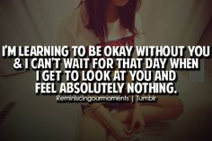 you amp i can t wait for that day when i get to look at you and feel ...