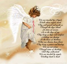 ... in Angels. This one looks like Erica, my beautiful Goddaughter. More