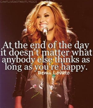 There Is Hope With These 30 Inspirational #Demi #Lovato #Quotes