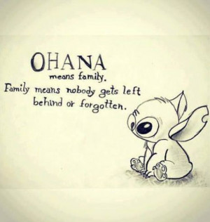 Family is always important