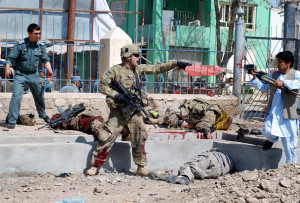 confirmed that two u s soldiers were among three nato forces killed in ...