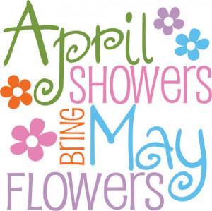 April Showers Freebie friday - april showers