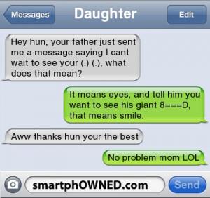 retarded mom