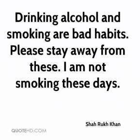 Quotes About Drinking Alcohol Bad