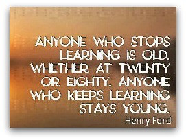 Generally speaking, learning and growing can help improve our quality ...