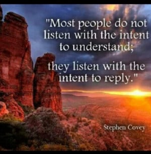 Listening is underrated
