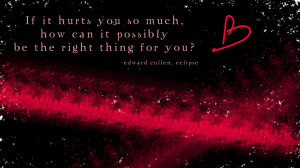 Eclipse twilight, love, movie, sayings, twilght wallpapers
