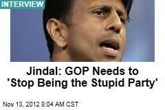 ... he isn t taking his own advice stop being stupid in the stupid party