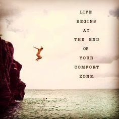 Be open to taking the occasional risk, otherwise you'll likely get ...