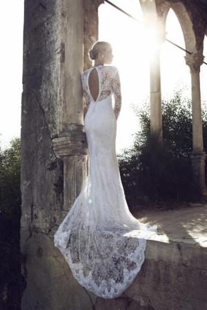 Long Sleeve Wedding Dresses Back to Catwalk