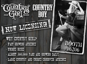 Country Girl and Country Boy Brand Ride Off to Vegas Licensing Expo