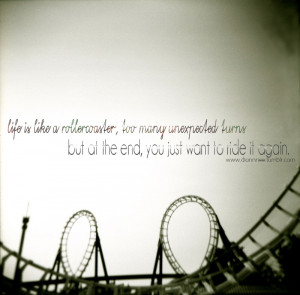 Life is a rollercoasterquote-book:Submitted by diannnee