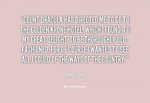 Dracula Quotes Bram Stoker
