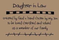 My Daughter Quotes And Sayings Daughter in law quotes and