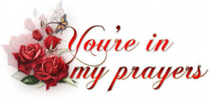 your in my prayer s