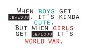boy, boys, jealous, quote, quotes, so true