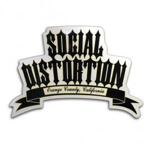 Social Distortion Sticker