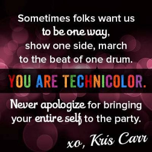 YOU ARE TECHNICOLOR!