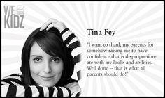 Tina Fey quote.